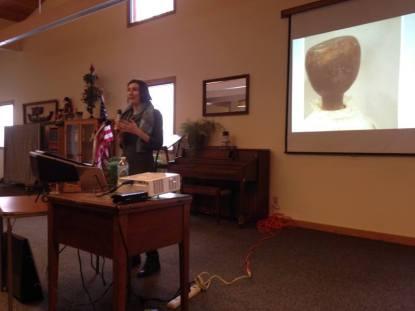 """History Department graduate student Laurel Miller describing """"Debbie."""""""