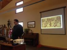 Department of Art History graduate student Alex Leme discusses stereoscopic images.