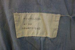 A detail of Jessica's uniform.