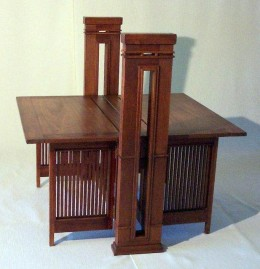 Frank Lloyd Wright Print Table