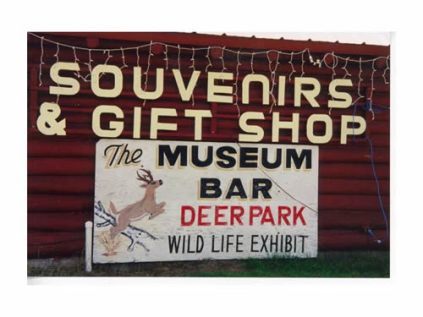 Wildlife Museum Bar, Phillips, WI. October 2000. No longer extant