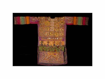 Chola, (women's blouse), Thano Bula Khan, Sindh, Pakistan, ca. 1950-1997